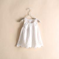 Frozen Top Fasion Real Batik Peppa Vestido Wholesale 2014 Years Summer Sun Dress Children's Clothing for Girls 6pcs/lot Ye010305