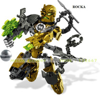 Hero Factory4.0 Robot Block ROCKA War Solider Building Block  Compatible With Lego  Assembles Bricks Fight Inserted toys