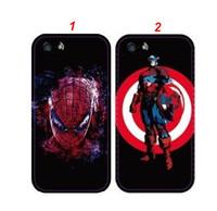 Exclusive Spider-Man Captain America Plastic Case for iPhone 4 4S 5 5S
