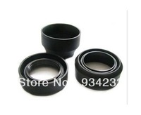 49mm 52mm 55mm 58mm 62mm 67mm 72mm 77mm 82mm rubber lens hood with three for Canon Nikon Sony Universal