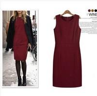 IN STOCK!Wholesale The new European and American women's winter woolen dress