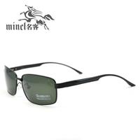 Ultra-light polarized sunglasses male sunglasses spring metal alloy square picture frame