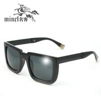 Fashion vintage sunglasses star style female big frame glasses male sunglasses