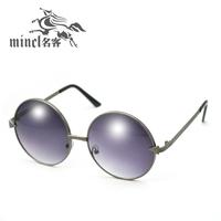 Arrow vintage sunglasses female male sunglasses big box circle sunglasses fashion prince mirror