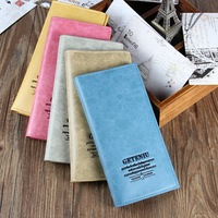 New arrival 19.9 star multifunctional fresh genuine leather large capacity card holder multi card holder lovers wallet