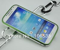 Glider Ultra Thin Aluminium Metal Bumper Blade Case for Samsung Galaxy S4 I9500 DHL Free Shipping(5PCS/LOT)