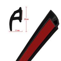 Modified car p type seal strip car door sealing strip dust proof strip 3m  Free shipping