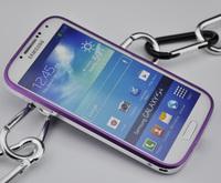 DHL Free Shipping(20PCS/LOT) Glider Ultra Thin Aluminium Metal Bumper Blade Case for Samsung Galaxy S4 I9500