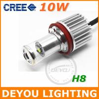 Genuine 2014 New 10W CREE XML H8 LED Fog Lamp Light bulb DRL Driving light 12V 24V Xenon White