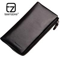 brand man purse men long mens genuine leather credit card holder clutch wallet cartera hombre carteira masculina monedero