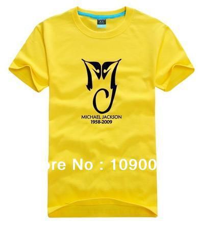 Wholesale NEW Women's or Men's Casual plus size XS S - 3XL 4XL O-neck Short sleeve T-shirt rock shirts- Michael Jackson 152(China (Mainland))