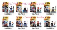 Lele assembling building blocks toy illusiveness dolls doll