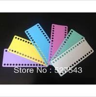 Free shipping high quality 9mm hole plastic cross stitch threading board cross stitch tools accessories 15pcs/lot