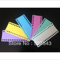 Free shipping high quality 9mm hole plastic cross stitch threading board cross stitch tools accessories 15pcs/lot