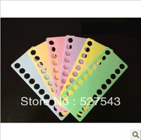 Free shipping high quality 15mm hole plastic cross stitch threading board cross stitch tools accessories 10pcs/lot