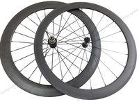 Super light wheel fit shimano11s 50mm front 60mm rear tubular wheelset 700c Carbon fiber road Racing bicycle wheelset