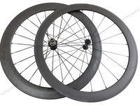 Super light wheel fit shimano 11s 50mm front 88mm rear tubular carbon wheels 700c Carbon road bike Racing wheelset