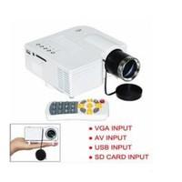 New UC28 Plus with HDMI Mini Micro AV LED Digital Video Game Projectors Multimedia player Inputs AV VGA USB SD