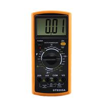 Digital Multimeter LCD AC/DC Volt Amp Ohm Meter Ammeter Resistance Capacitance EXCEL DT9205A