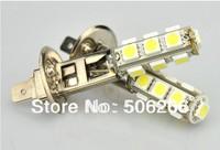 5050 H1 13SMD LED Car Fog Headlight Light Bulbs White  h1 car led fog light 10pcs/pag