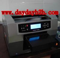 Automatic digital inkjet card flatbed pritner