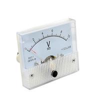 DC 30V Analog Panel Volt Voltage Meter Voltmeter Gauge 85C1 White