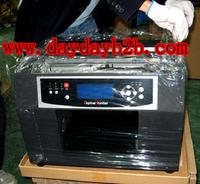A4 flatbed pritner glass crystal solvent printer