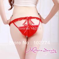 Hot sexy underwear Happy exploring Shuangsushuangfei Lace thong sexy panties7004