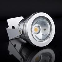 2Pcs Aluminum  Waterproof Cool Cold White 12V 10W LED FloodlightFlood Light Lamp