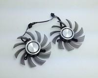 XFX 8010 FD7010H12S 12V 0.35A FirstD Fan double fan 39mm hole distance