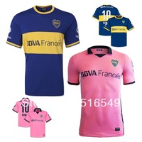 TOP thailand quality boca juniors home blue soccer jersey football shirt 2014 player GAGO ROMAN jerseys soccer boca juniors