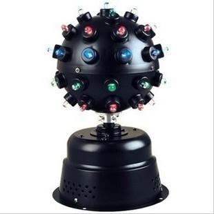 led crystal magic ball light /Sound control small magic ball lamp /led laser light/ bar lights /ktv laser light(China (Mainland))