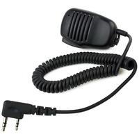 High-quality Mini PTT Speaker MIC For Radio Kenwood QUANSHENG PUXING WOUXUN TYT HYT BAOFENG UV5R 888S  J1015A