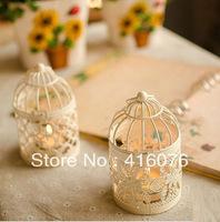 Free Shipping! Classic Birdcage Metal Lantern Romantic Feelings Iron Candle Holder  Wedding Gift Decoration Mixed Designs! C1010