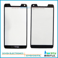 Outer LCD Screen Lens Top Glass for Motorola DROID RAZR M XT907,Black,Free Shipping,Best quality