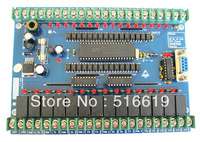 Free shipping   FX_30MR 30MT  PLC industrial control board  Programmable logic controller  51 single chip microcomputer