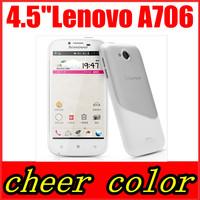 "Original Lenovo A706 Quad Core Qualcomm MSM8225Q 1.2GHz Android 4.1 1GB RAM 4GB ROM 4.5"" IPS Screen 5MP Smart Phone Google Play"