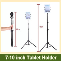 Universal Flexible Adjustable Tablet Floor Stand Holder Goose Neck Mount for 7-10 inch Tablet