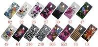 1PCS New Flower butterfly shooting star jellyfish zebra UK US Flag Hard back Case Cover For HTC Desire 700