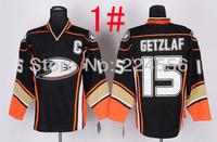 2014 new anaheim mighty ducks jersey 15 Ryan Getzlaf 11 Saku Koivu 9 Bobby Ryan  Teemu Selanne 8  10 Corey Perry Hockey Jersey