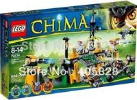 Free Shipping NEW Original educational brand lego Blocks toys 70134 CHIMA series Lavertus' Outland Base 684PCS for Gift
