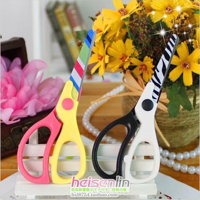 cute child scissors practical safety scissors handmade scissors(China (Mainland))