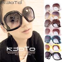 2013 fashion vintage women's sunglasses large frame sunglasses sun glasses
