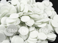 1000pcs Felt 20mm Circle Appliques -White Free Shipping