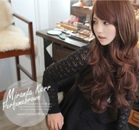 New Sexy Women Girls Fashion Style Wavy Curly Long Hair Human Full Wigs