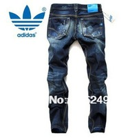 2013 cheap price fashion style newest arrival hot man denim jeans