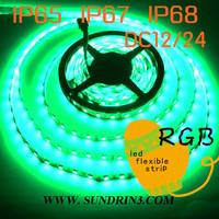 DHL free shipping 100m/lot LED strip 5050 SMD 12V flexible 60LED/m 5m 300LED White warm Blue Green Red rgb led stripwaterproof