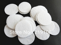 500pcs Felt 35mm Circle Appliques - White Free Shipping
