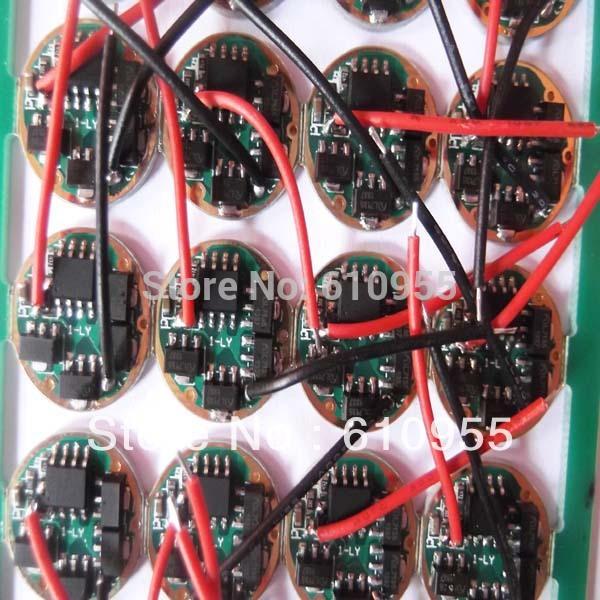 17mm 5W AMC7135x4 AK47 1400mA 3-Mode LED Circuit Board for DIY Flashlight(China (Mainland))