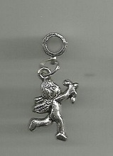 Free Shipping Wholesale Fashion Vintage Silvers Cupid Angel Charms Pendants DIY Jewelry Findings 100PCS N1070
